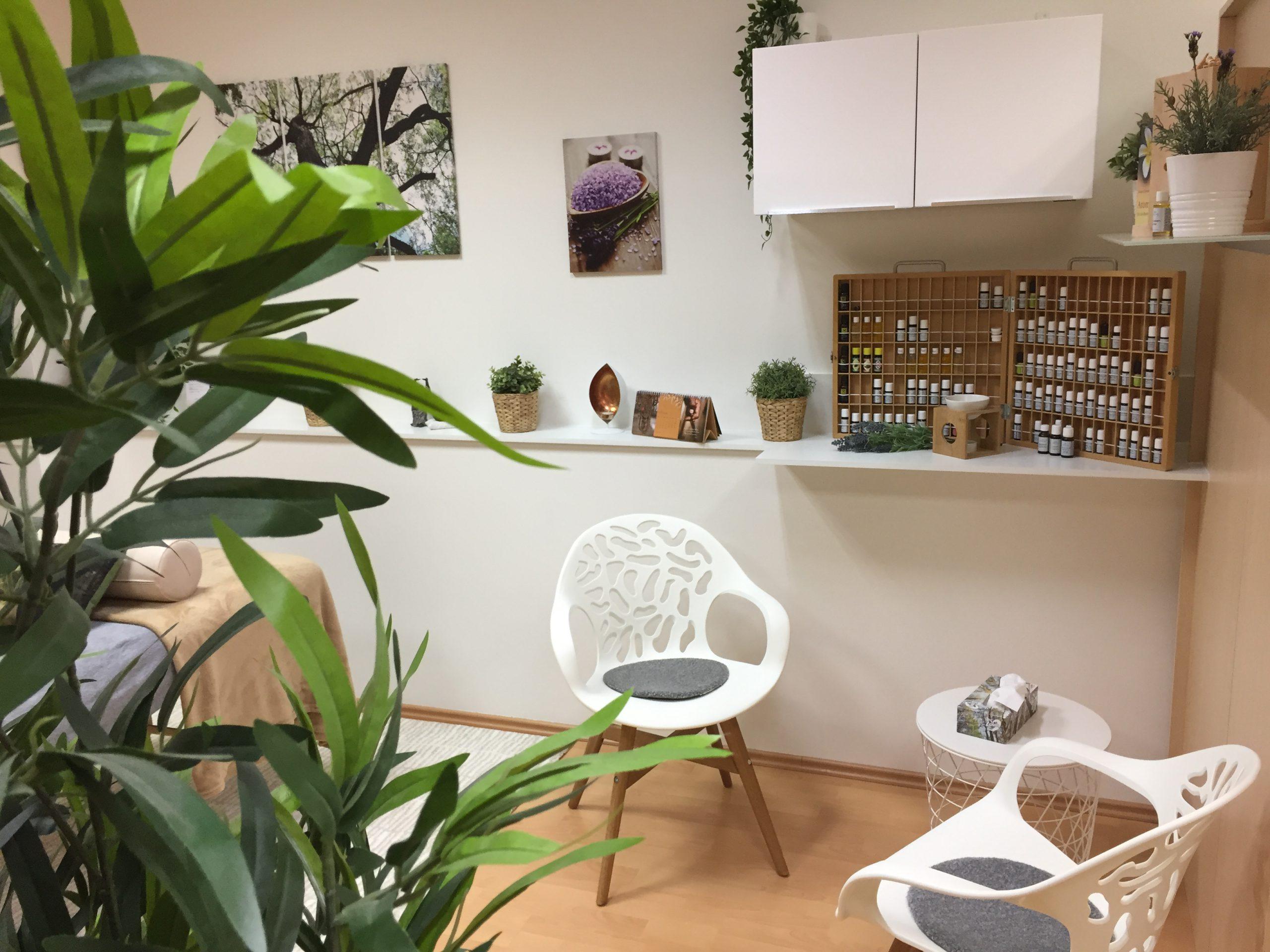 praxis entero bietet Energie-Balancing und Aromatherapie an