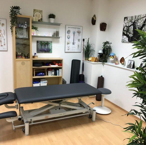 Physiotherapie in Graz - Praxisraum praxis entero