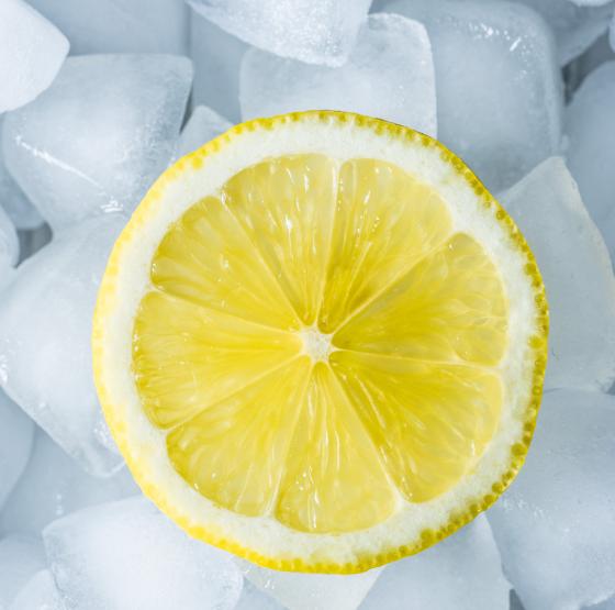 Zitronenöl wirkt erfrischend und kühlende
