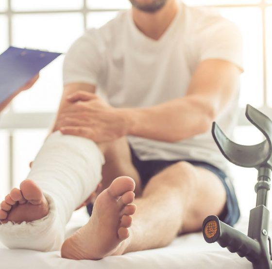 Therapie nach Knochenbrüchen