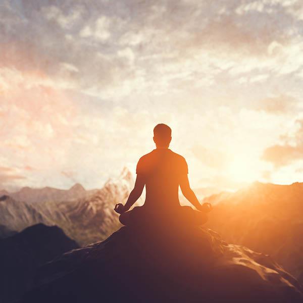 Meditation und Einklang der Chakren